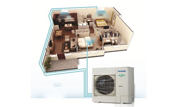 Điều hòa trung tâm là loại điều hòa chỉ sử dụng 1 dàn nóng cho cả nhà